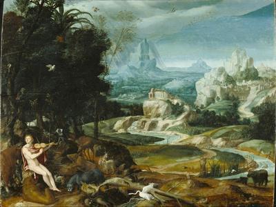 Landscape with Orpheus, c.1570