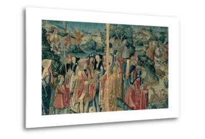 Tapestry with Hunting Scene, Flemish, 1470-1480. Urbino, Italy