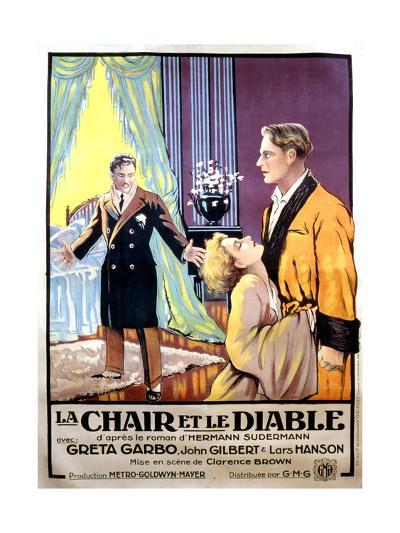 Flesh and the Devil, Greta Garbo, 1926--Giclee Print