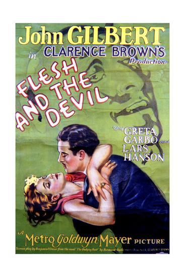 Flesh and the Devil - Movie Poster Reproduction--Art Print