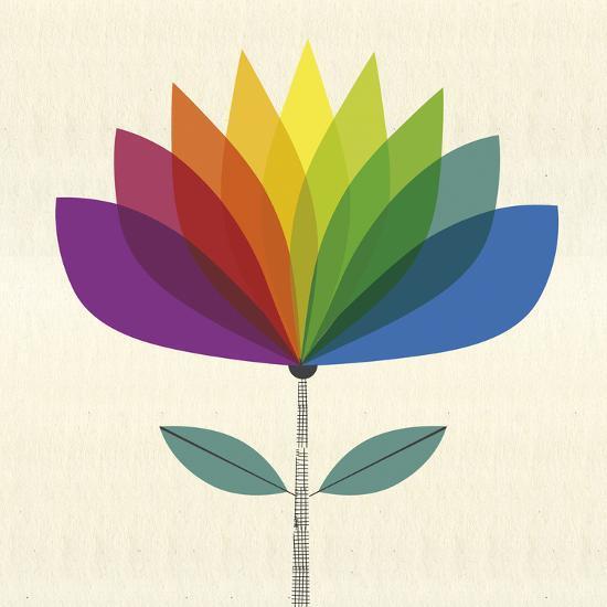 Fleur Chroma II-Sophie Ledesma-Giclee Print