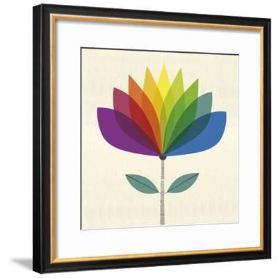 Fleur Chroma II-Sophie Ledesma-Framed Giclee Print