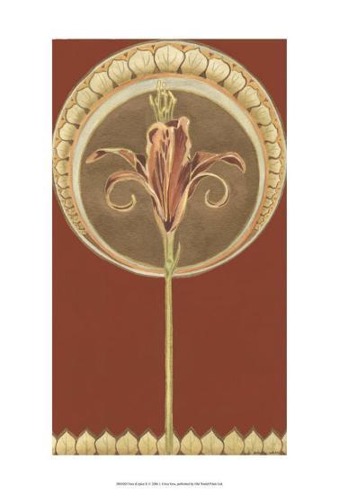 Fleur d' Epice II-Erica J^ Vess-Art Print