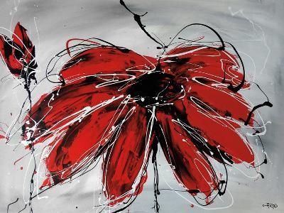 Fleur De Coeur-Annie Rodrigue-Art Print