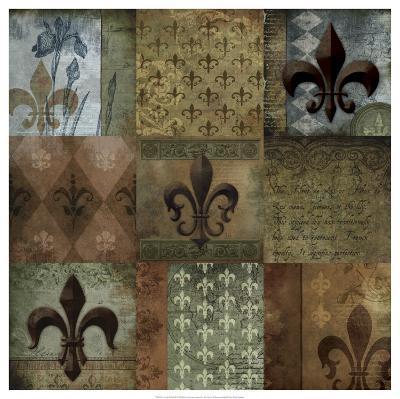 Fleur-de-lis 9-Patch--Art Print