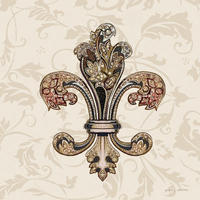 Fleur de Lis Motif I-Gregory Gorham-Art Print