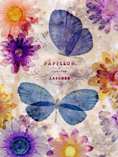 Fleur De Papillion 1-Morgan Yamada-Art Print