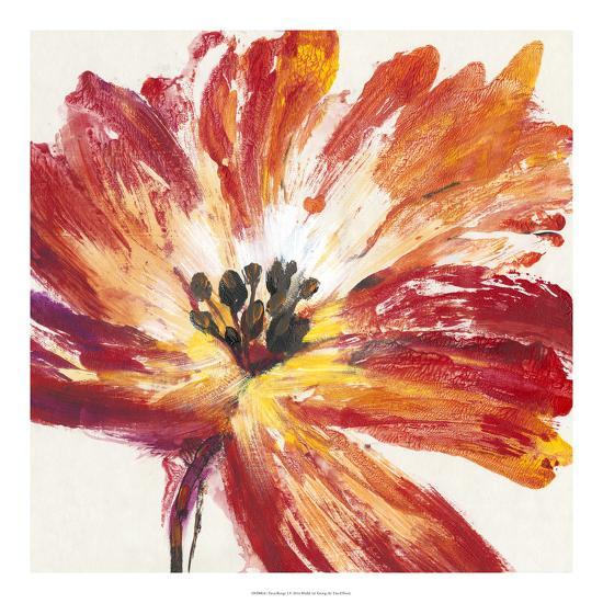 Fleur Rouge I-Tim O'toole-Art Print