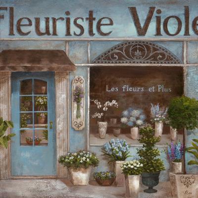 Fleuriste-Nan-Art Print
