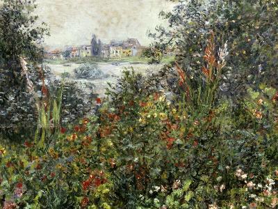 Fleurs a Vetheuil, 1880-Claude Monet-Giclee Print
