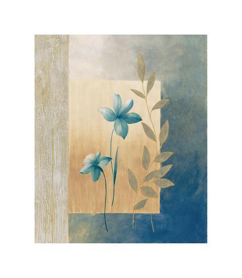 Fleurs bleues I-Etienne Bonnard-Giclee Print