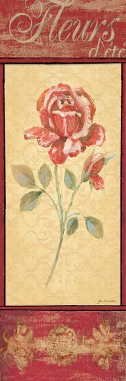 Fleurs D'Ete-Jo Moulton-Art Print