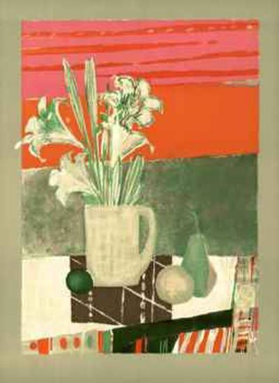 Fleurs de Banquet-Rene Genis-Collectable Print