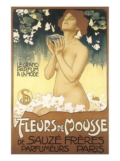 Fleurs de Mousse de Sauze Freres--Art Print