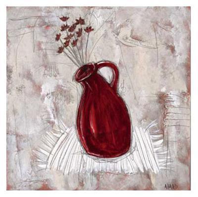 Fleurs de Passion-Valérie Allard-Art Print