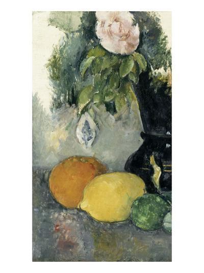 Fleurs et fruits-Paul C?zanne-Giclee Print
