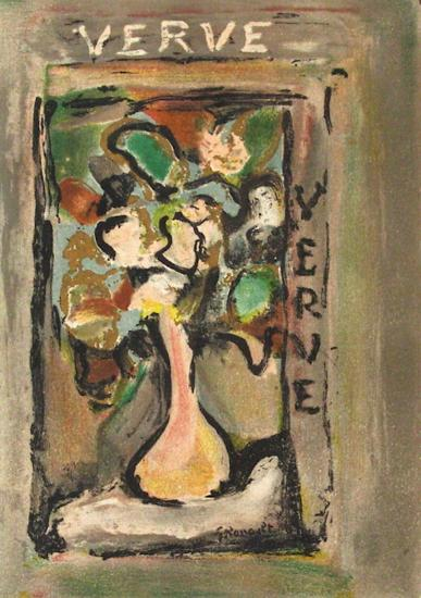 Fleurs I-Georges Rouault-Collectable Print