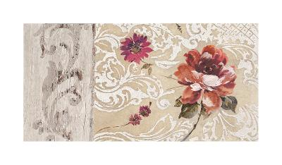 Fleurs Neoclassique I-Hélene Simon-Giclee Print