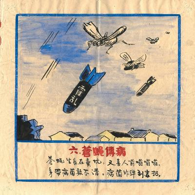 Flies are Bombs, They Spread Cholera and Disease--Art Print
