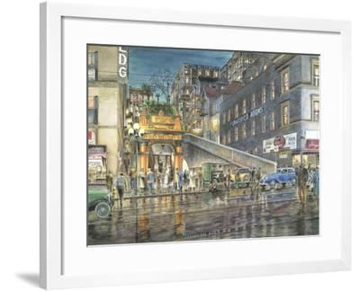 Flight By Night-Stanton Manolakas-Framed Giclee Print