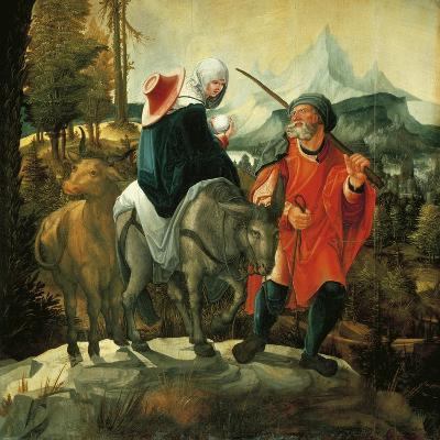 Flight into Egypt, 1525-1530-Wolfgang Huber-Giclee Print