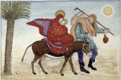 Flight into Egypt III-Gillian Lawson-Giclee Print