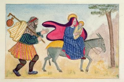 Flight into Egypt IV-Gillian Lawson-Giclee Print