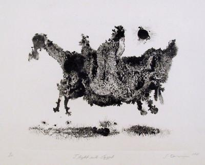 Flight into Egypt-Ronald Jay Stein-Limited Edition