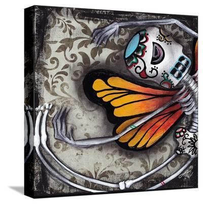 Flight of The Monarch-Abril Andrade-Stretched Canvas Print