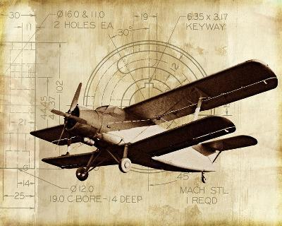 Flight Plans II-Michael Marcon-Art Print