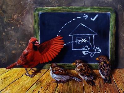 Flight School-Lucia Heffernan-Art Print