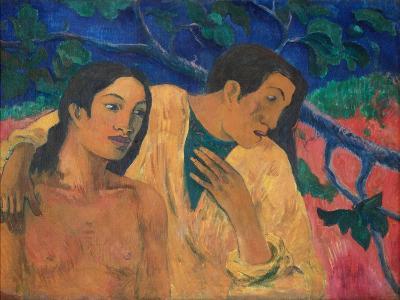 Flight (Tahitian Idyl)-Paul Gauguin-Giclee Print