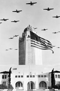 Flight Training Formation in Texas