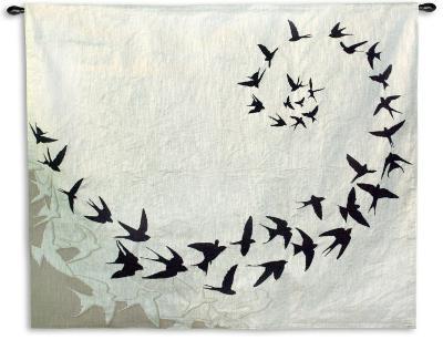 Flight--Wall Tapestry