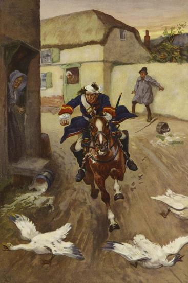 Flight-Gordon Frederick Browne-Giclee Print