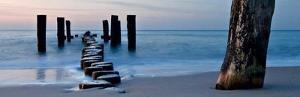 Ocean Sunrise by Fline