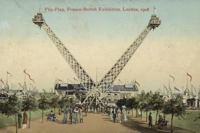 Flip-Flap, Franco-British Exhibition, White City, London, 1908--Photographic Print