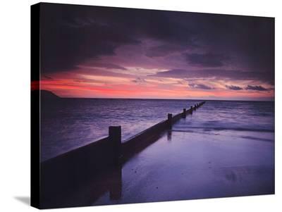 Flip Flops & Coffee-AJ Messier-Stretched Canvas Print