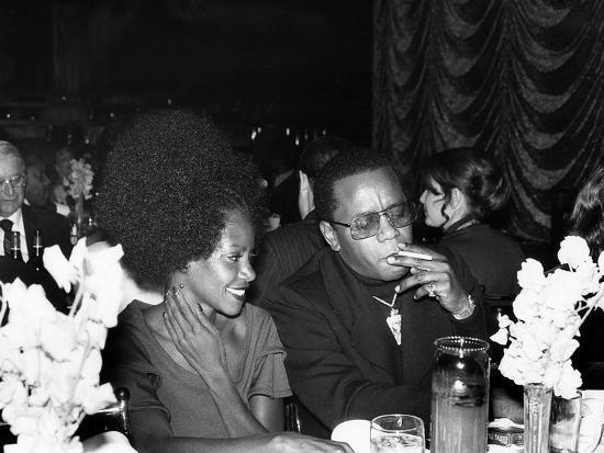 Flip Wilson and Melba Moore - 1975-Bob Lucas-Photographic Print