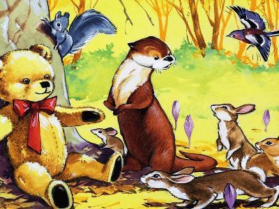 Fliptail the Otter-Bert Felstead-Giclee Print