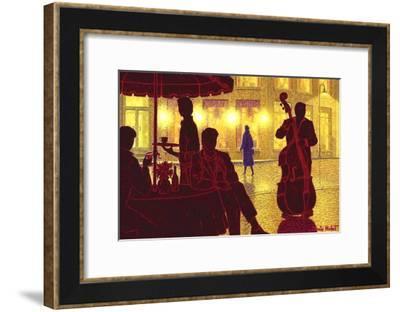 Flirt and Contrebasse-Denis Nolet-Framed Art Print