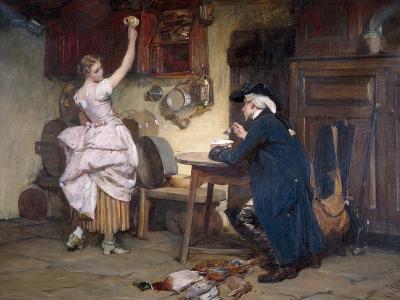 Flirtation, 1885-John Francis Rigaud-Giclee Print