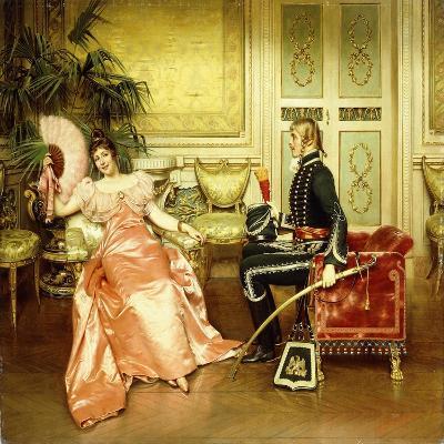 Flirtation-Joseph Frederick Charles Soulacroix-Giclee Print