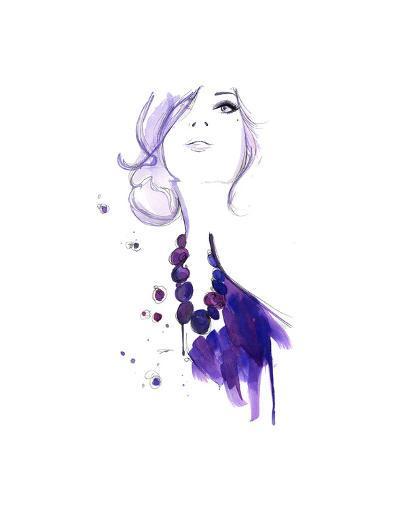 Floating Beads-Jessica Durrant-Art Print