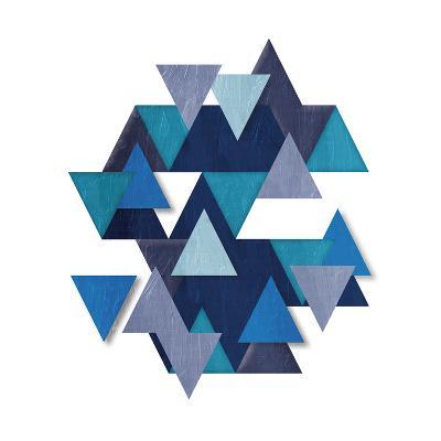 Floating Blueberry Gems-OnRei-Art Print