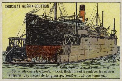 Floating Dock--Giclee Print