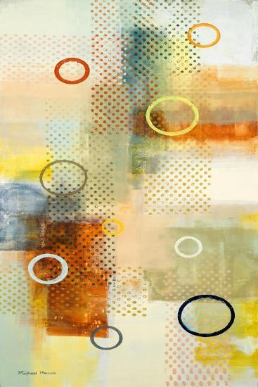 Floating Forms I-Michael Marcon-Art Print