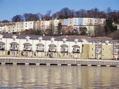 Floating Harbour, Bristol, England, United Kingdom-Charles Bowman-Photographic Print