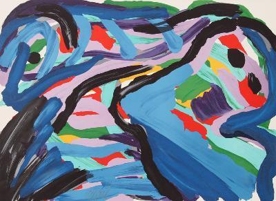 Floating in a Landscape-Karel Appel-Limited Edition