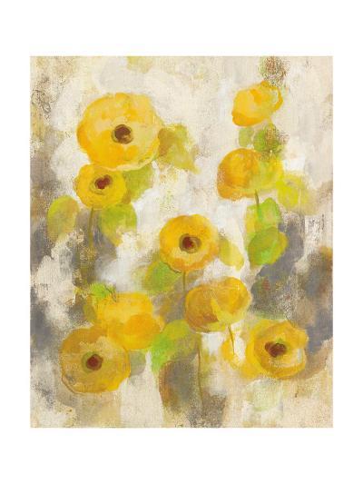 Floating Yellow Flowers II-Silvia Vassileva-Art Print